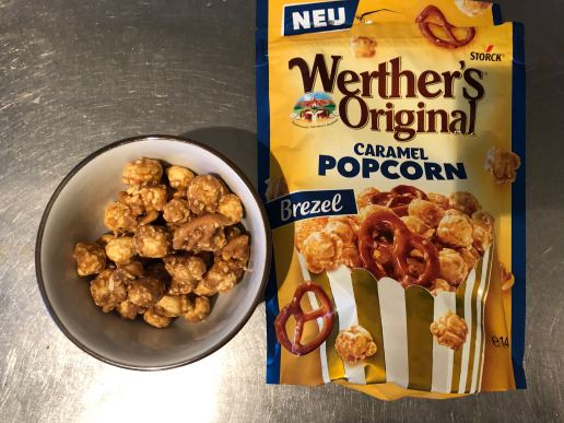 Caramel popcorn werthers orginal