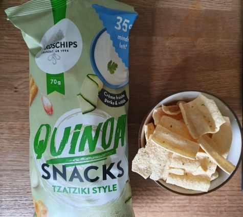 Quinoa snacks Tzatziki style, gårdschips.jpg