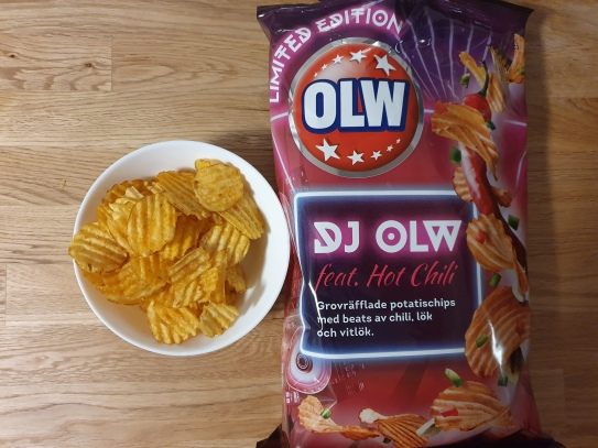 DJ OLW hot chili