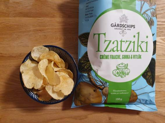 Tzatziki Gårds chips