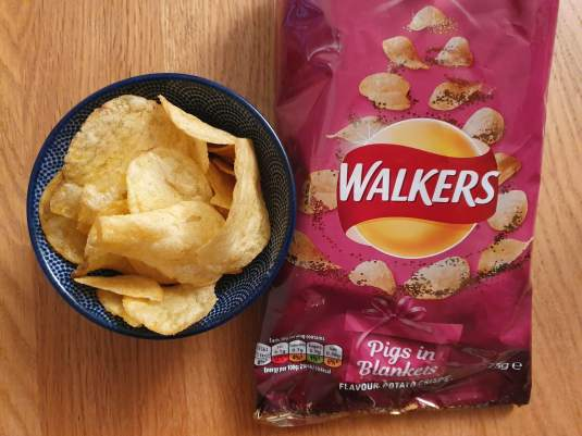 Pigs in blankets walkers