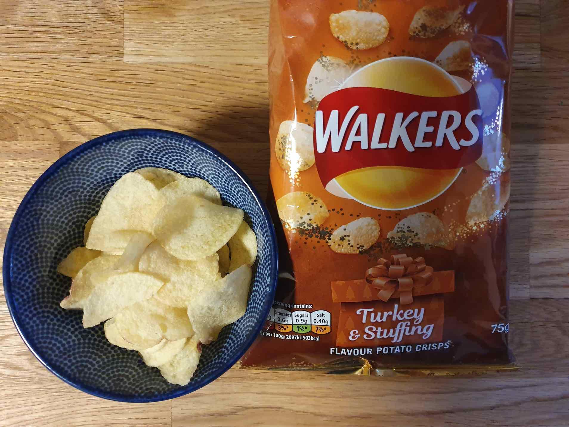 Walkers Turkey & Stuffing